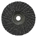 Abrasive ZEK Disc, Spiral Cut Design