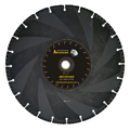 AZ Demolitian Blade:  Diamond outlasts abrasive blade 100:1!