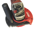 Hilti Dust Shroud w/ Shallow Cup Wheel.