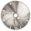 Electro-Plated Diamond Blades - cleaner cutting on marble, travertine, bluestone, etc.