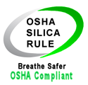 OSHA Silica Dust Rule - Vacuum Compliant.