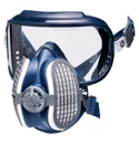 GVS Integra Respirator w P100 & Eye Protection.