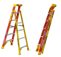 Werner Ladder, Lean Safe Step Ladder.