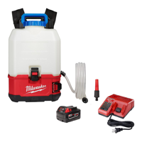 Milwaukee Battery Operated Water Tank.