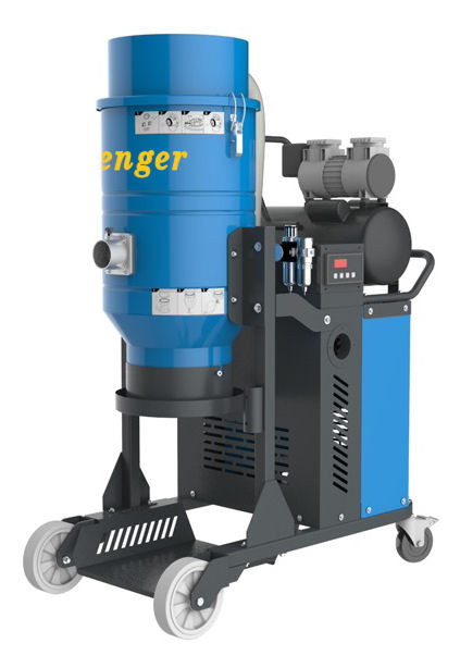 Industrial Vacuum 350 Cfm 240 Volt Hepa Dust Extractor