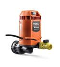 Ridgid Pump-Out Vacuum, Quick Connection Pump.